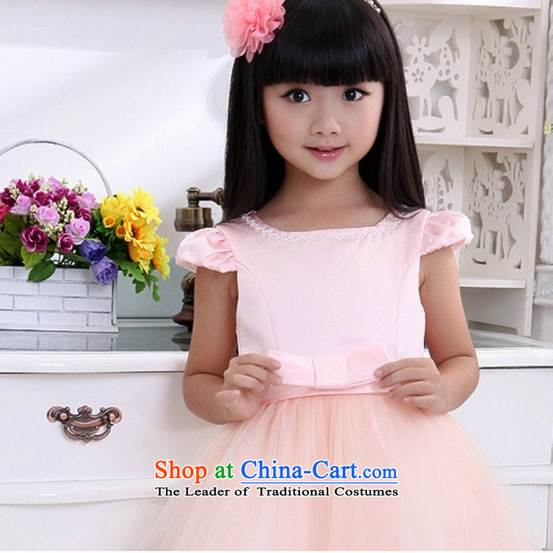 There is also optimized 8D baby birthday dress dance performances to take girls children princess skirt dress bon bon skirt XS1013 pink 6 yards