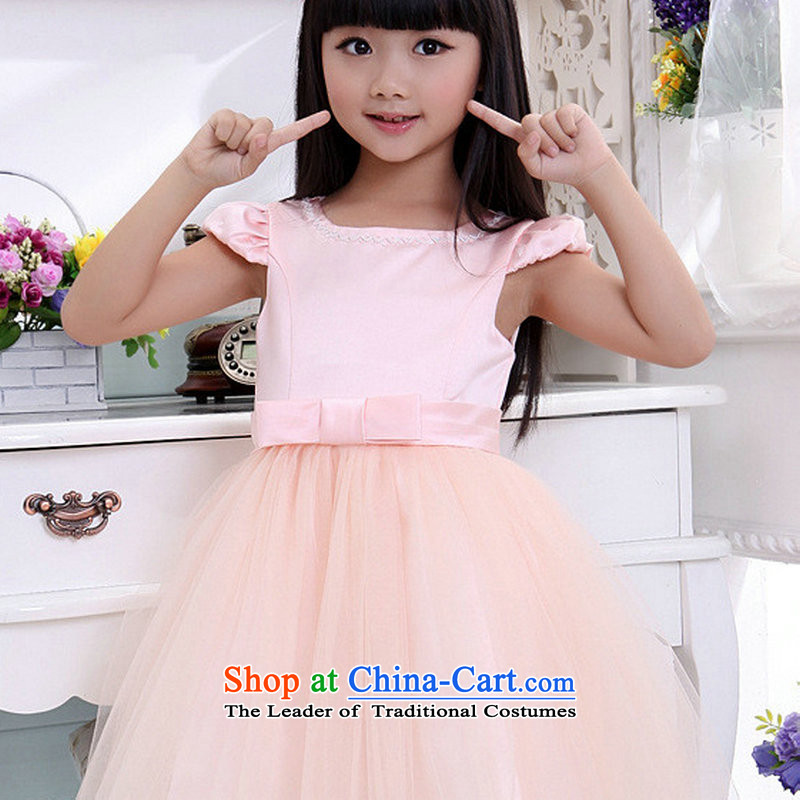 There is also optimized 8D baby birthday dress dance performances to take girls children princess skirt dress bon bon skirt XS1013 pink 6 yards, Optimize color 8D , , , shopping on the Internet