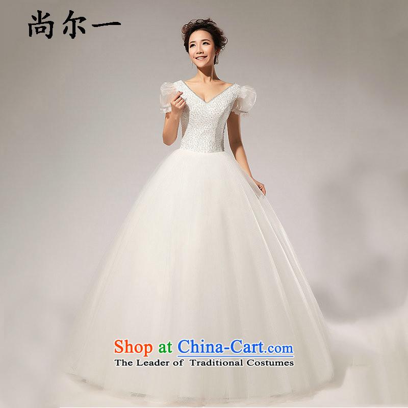 A pure colors naoji bubble cuff pure princess ivory wedding XS5232 m White�L