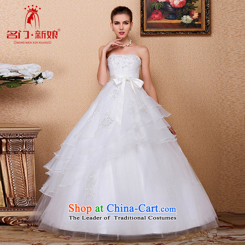 A聽new Marriage bride 2015 wedding anointed chest bon bon wedding Korean style wedding Top Loin video thin 526 M