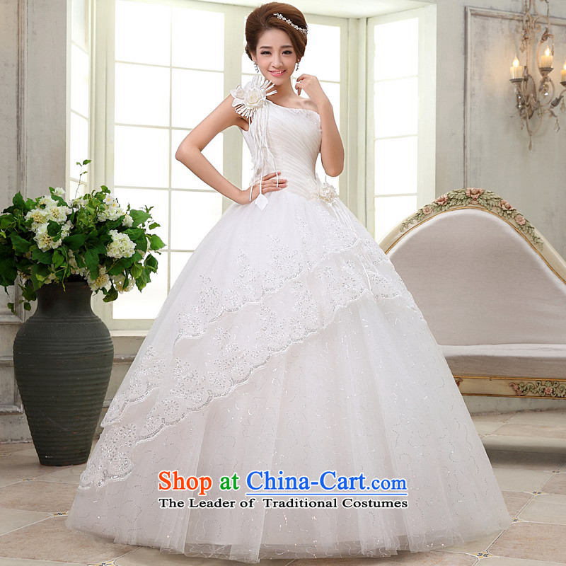 Mrs Alexa Lam roundup marriages wedding dress shoulder straps graphics thin flowers wedding dresses won out of 66582 elegance聽L_2.4_ White