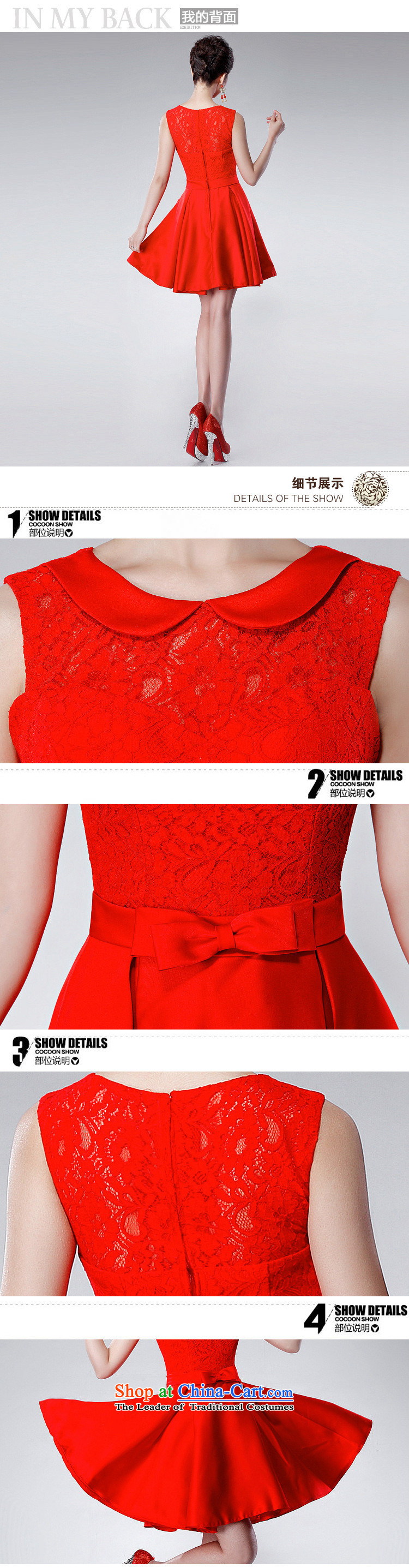 Yet a red short, 2014 New toasting champagne dress uniform Korean dress annual spring evening dress XS6623 dress red XL Photo, prices, brand platters! The elections are supplied in the national character of distribution, so action, buy now enjoy more preferential! As soon as possible.