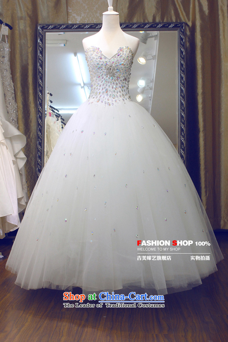 Wedding dress Kyrgyz-american married new anointed arts 2015 Chest Korean skirt to align bon bon HS743C bride wedding white picture, prices, S brand platters! The elections are supplied in the national character of distribution, so action, buy now enjoy more preferential! As soon as possible.