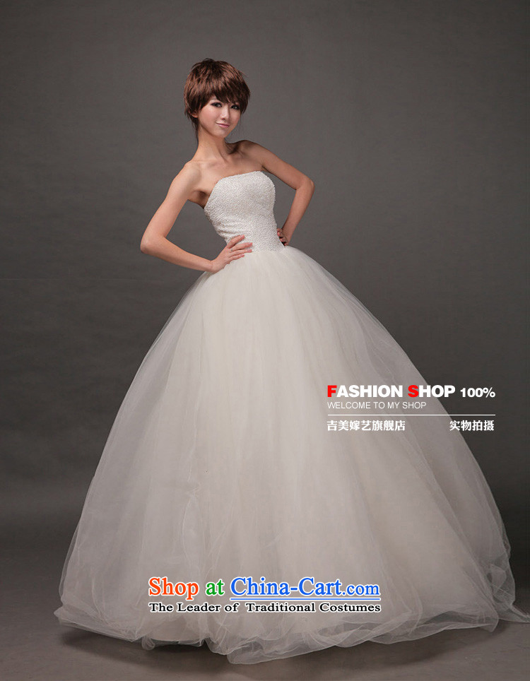Wedding dress Kyrgyz-american married new anointed arts 2015 Chest Korean skirt HS189 bon bon bride wedding white picture, prices, XS brand platters! The elections are supplied in the national character of distribution, so action, buy now enjoy more preferential! As soon as possible.