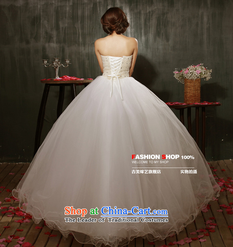 Wedding dress Kyrgyz-american married new anointed arts 2015 Chest Korean skirt HS606 bon bon bride wedding white picture, prices, XXXL brand platters! The elections are supplied in the national character of distribution, so action, buy now enjoy more preferential! As soon as possible.