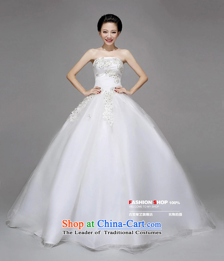 Wedding dress Kyrgyz-american married new anointed arts 2015 Chest Korean skirt HS723 bon bon bride weddingpictures, price XL white, brand platters! The elections are supplied in the national character of distribution, so action, buy now enjoy more preferential! As soon as possible.