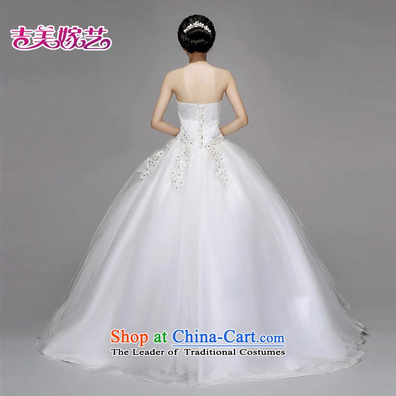 Wedding dress Kyrgyz-american married new anointed arts 2015 Chest Korean skirt HS723 bon bon bride wedding WhiteXL, Kyrgyz-US married arts , , , shopping on the Internet