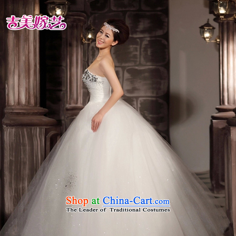 Wedding dress Kyrgyz-american married new anointed arts 2015 Chest Korean skirt HS806 bon bon bride wedding whiteXXXL, Kyrgyz-american married arts , , , shopping on the Internet