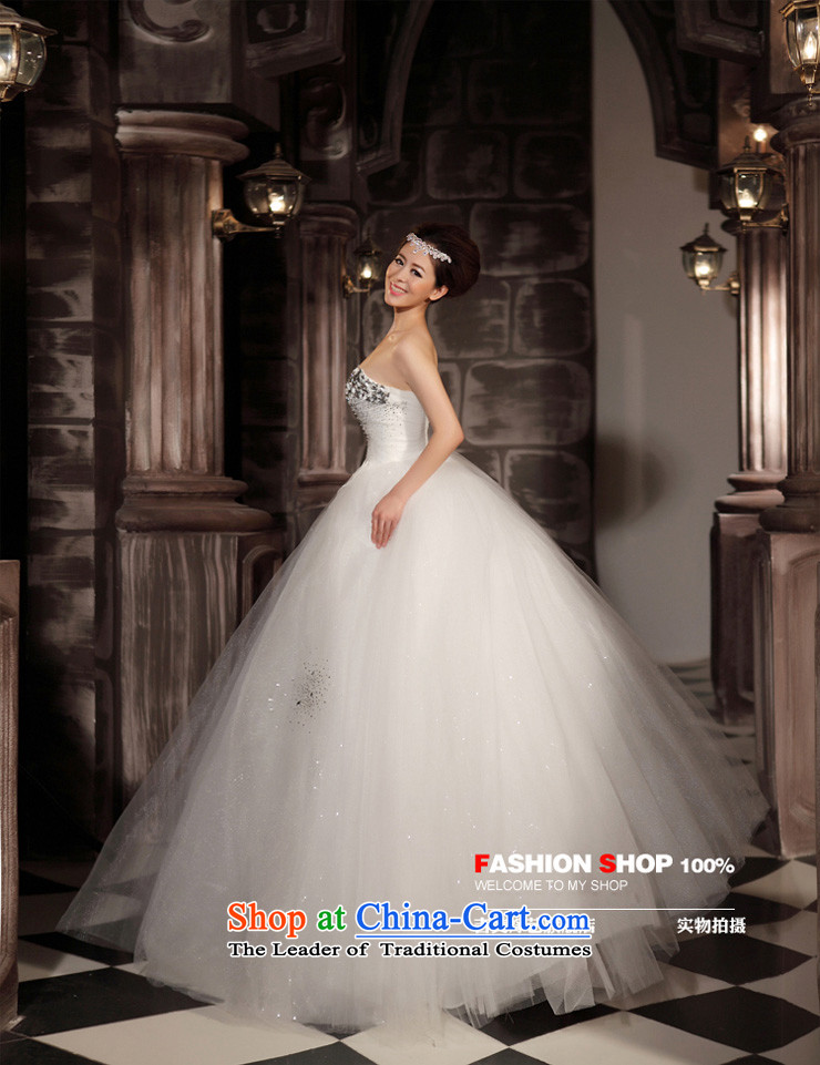 Wedding dress Kyrgyz-american married new anointed arts 2015 Chest Korean skirt HS806 bon bon bride wedding white picture, prices, XXXL brand platters! The elections are supplied in the national character of distribution, so action, buy now enjoy more preferential! As soon as possible.