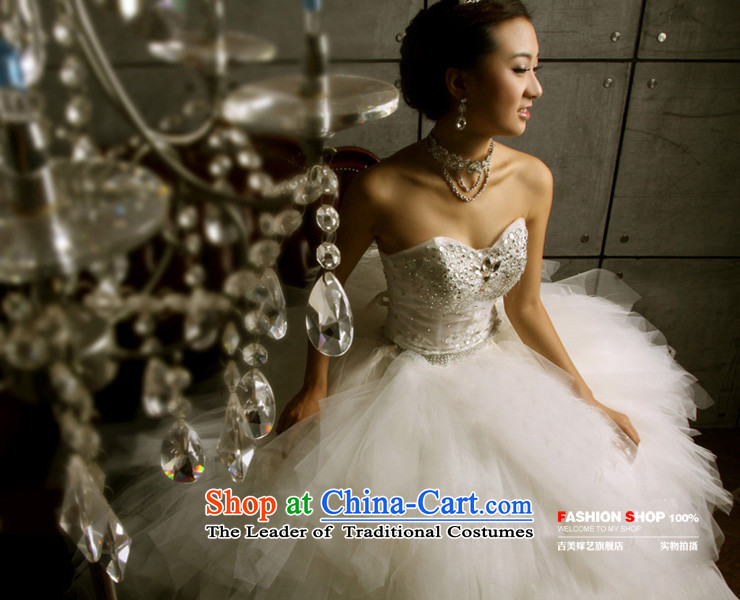 Wedding dress Kyrgyz-american married new anointed arts 2015 Chest Korean skirt HS3066 bon bon bride wedding ivory L picture, prices, brand platters! The elections are supplied in the national character of distribution, so action, buy now enjoy more preferential! As soon as possible.