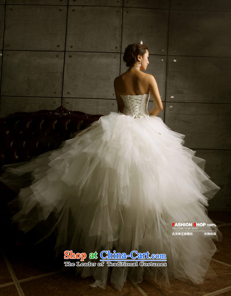 Wedding dress Kyrgyz-american married new anointed arts 2015 Chest Korean skirt HS3066 bon bon bride wedding ivoryL picture, prices, brand platters! The elections are supplied in the national character of distribution, so action, buy now enjoy more preferential! As soon as possible.