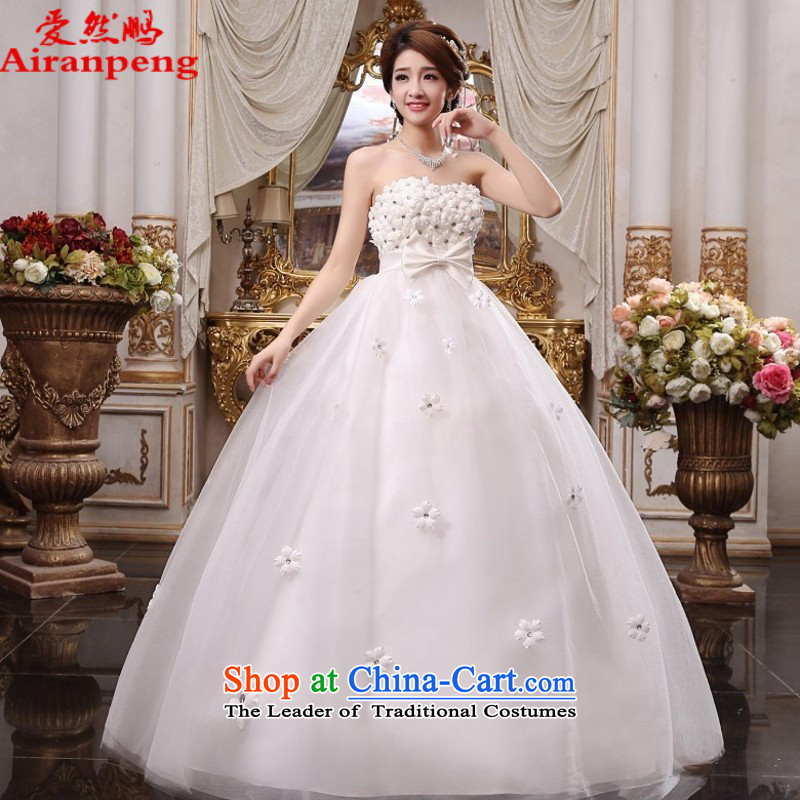 Love So Peng 2015, wedding dresses and chest to pregnant women with Top Loin of Korean brides larger lace New White聽XL package returning