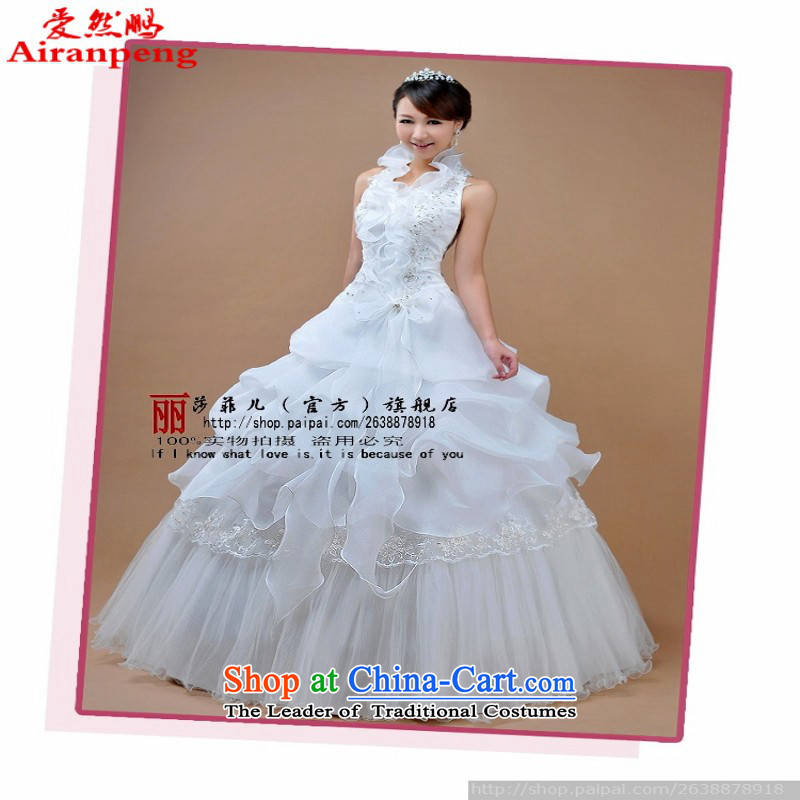 Love So Peng Married Women Princess Korean straps oriental splendour wedding dresses qipao Graphics High thin, 3368 White�XL package returning
