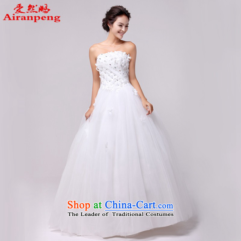 Love So Peng wedding dresses Korean to align the princess wedding Korean style with the new 2014 HS337 chest white customers to do not returning the size to
