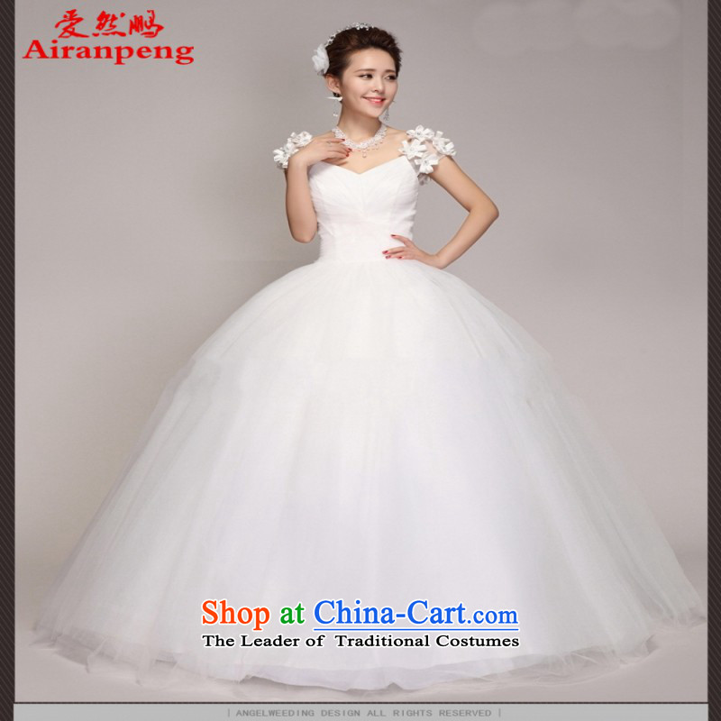 Love So Peng new Korean version of 2014 a field to align the shoulder bags shoulder The Princess Bride wedding dress code white customers to large size not returning to