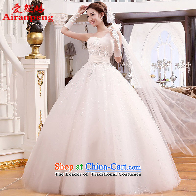 Love So Peng new Korean 2014 shoulder straps Princess Skirt holding marriages wedding dresses 016 new rack hot sales customers to do not returning the size to