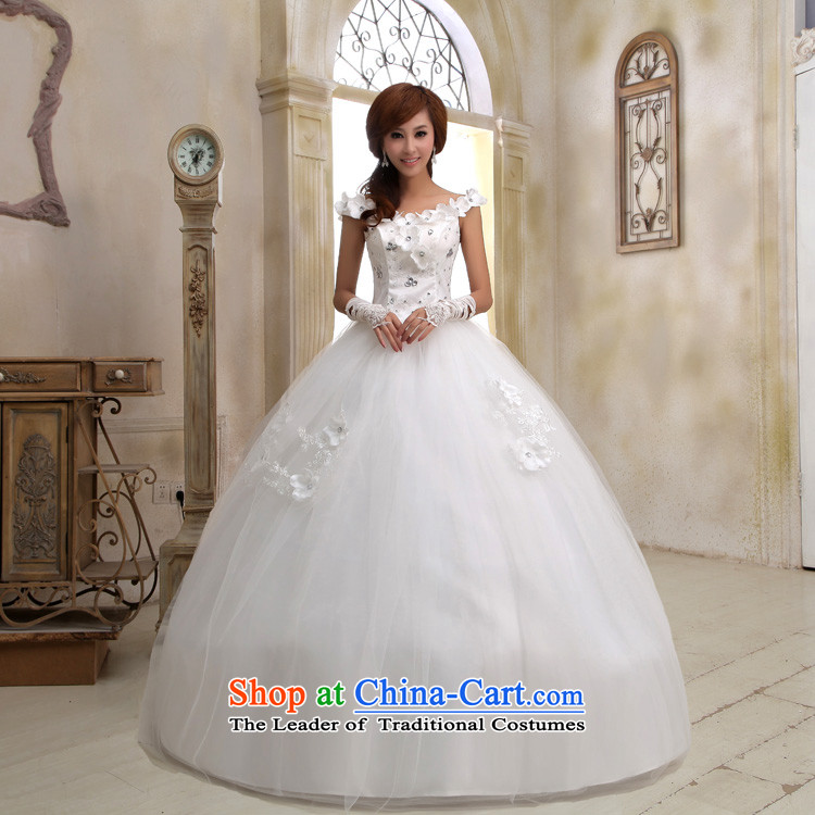 Honeymoon bride 2015 new wedding dresses water drilling flowers graphics thin wedding shoulder straps flowers sweet princess wedding White M pictures, prices, brand platters! The elections are supplied in the national character of distribution, so action, buy now enjoy more preferential! As soon as possible.