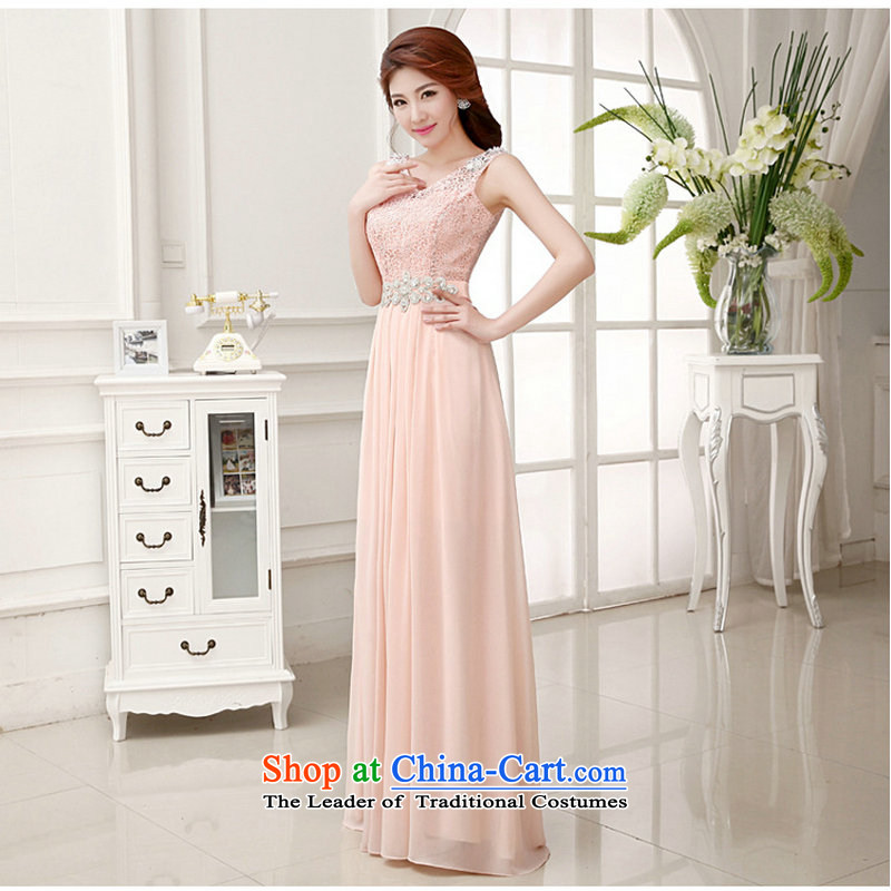 Optimize video minimalist wedding dresses new 2014 Ms. bride shoulders red bows XS658 serving meat marriage pink?L