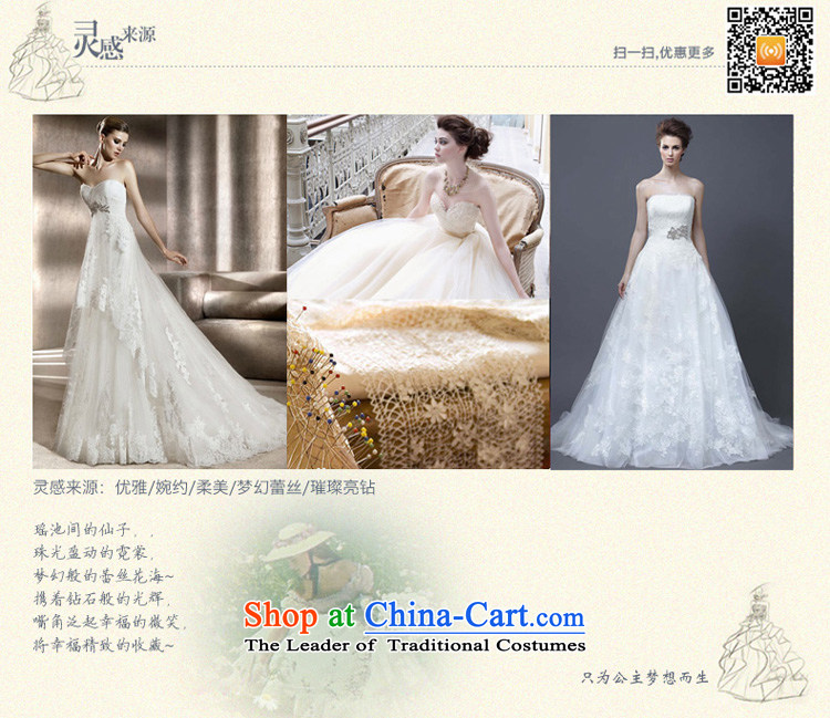Honeymoon bride wedding dresses聽2015 new lace straps wedding trailing white聽L wedding pictures, prices, brand platters! The elections are supplied in the national character of distribution, so action, buy now enjoy more preferential! As soon as possible.