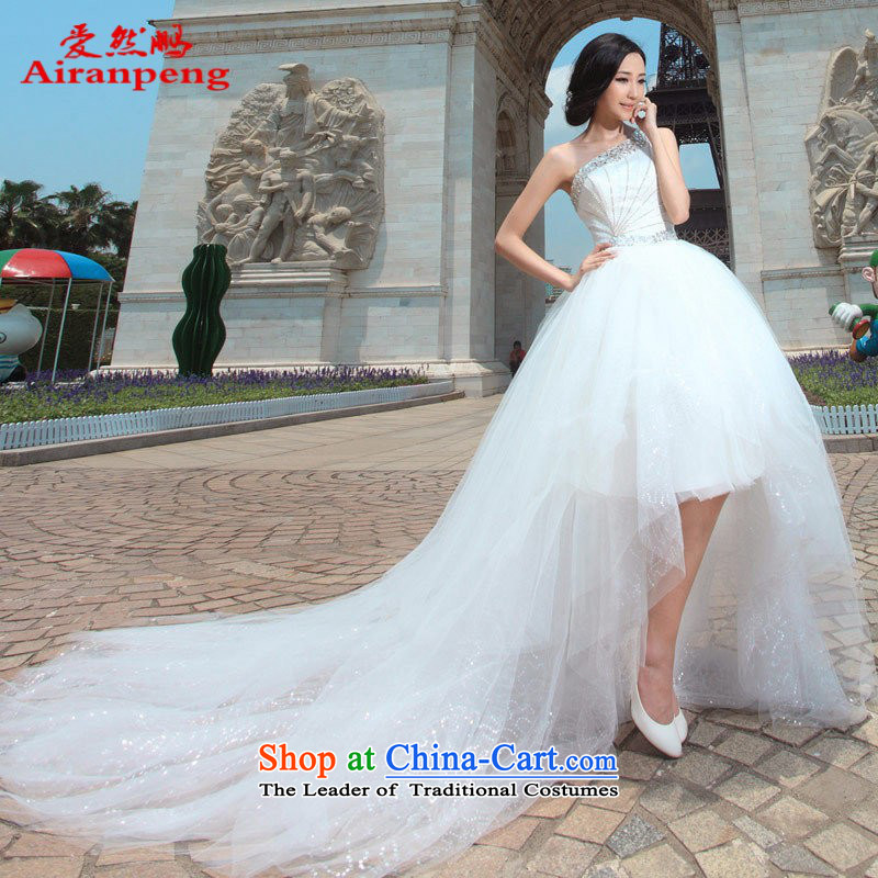 Love So Peng bride wedding dresses Korean small trailing wedding sweet will wedding dress 853 XL package returning