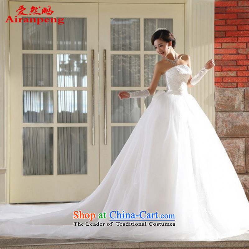 Love So Peng 2015, wedding dresses Korean anointed chest tail princess sweet Korean tail wedding customers to do not returning the size to