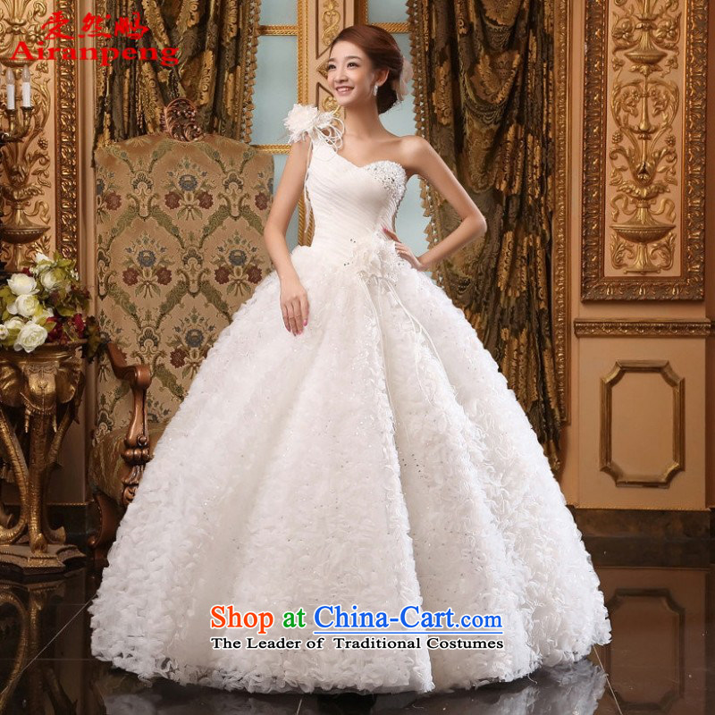 Love So Peng 2015, Wedding Korean brides shoulder flowers graphics thin sweet Princess Beveled Shoulder to align the size to a customer to wedding do not return