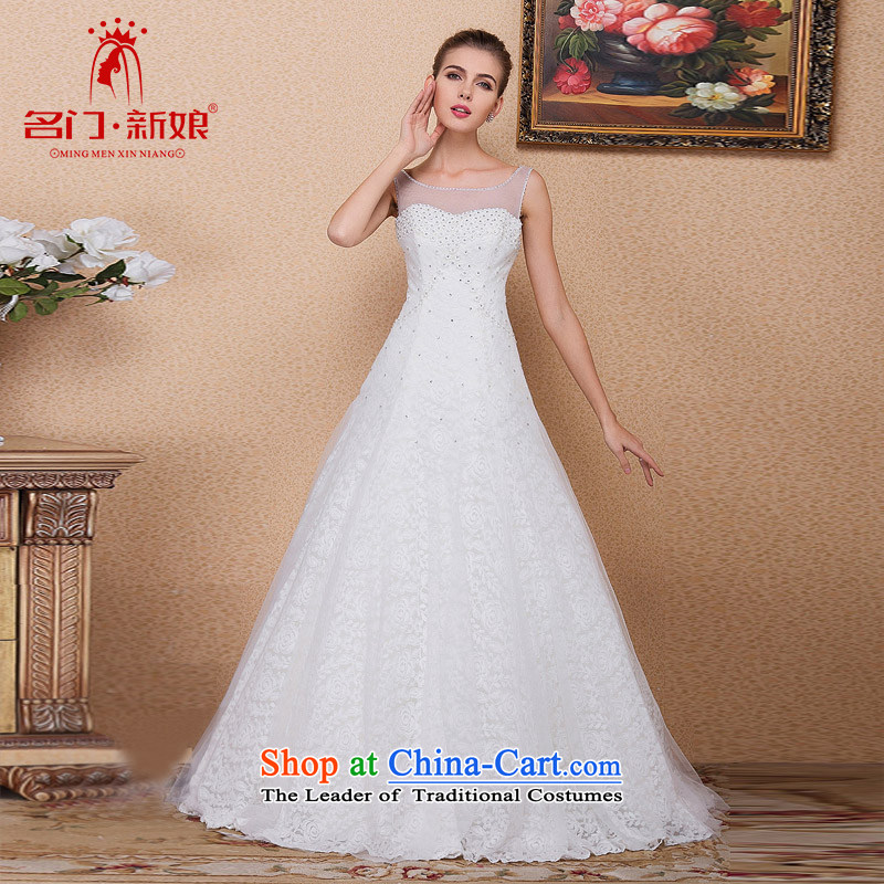 A new bride 2015 wedding stylish and simple word wedding shoulder wedding 560 M