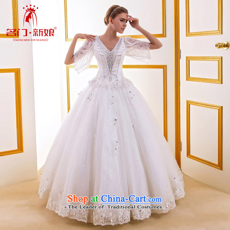 A?new court 2015 bride wedding manually beaded light drill wedding fifth cuff lace wedding 759 M