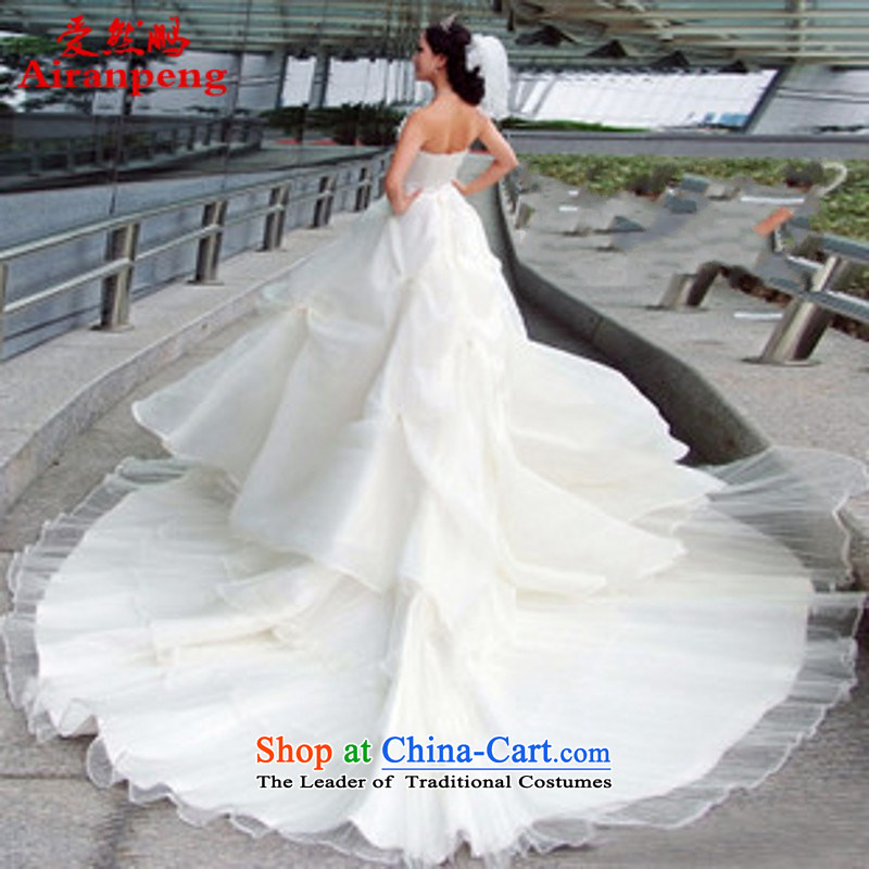 Love so beautiful pearl Peng flashing exotic Bohemia oversized lace under the tail Wedding 1466 XL package returning