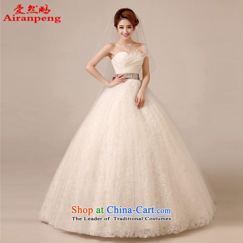 Love So Peng wedding dresses 2014 new Korean Princess Bride thin chest anointed graphics pregnant women dress in white wedding services聽XL package women bows returning