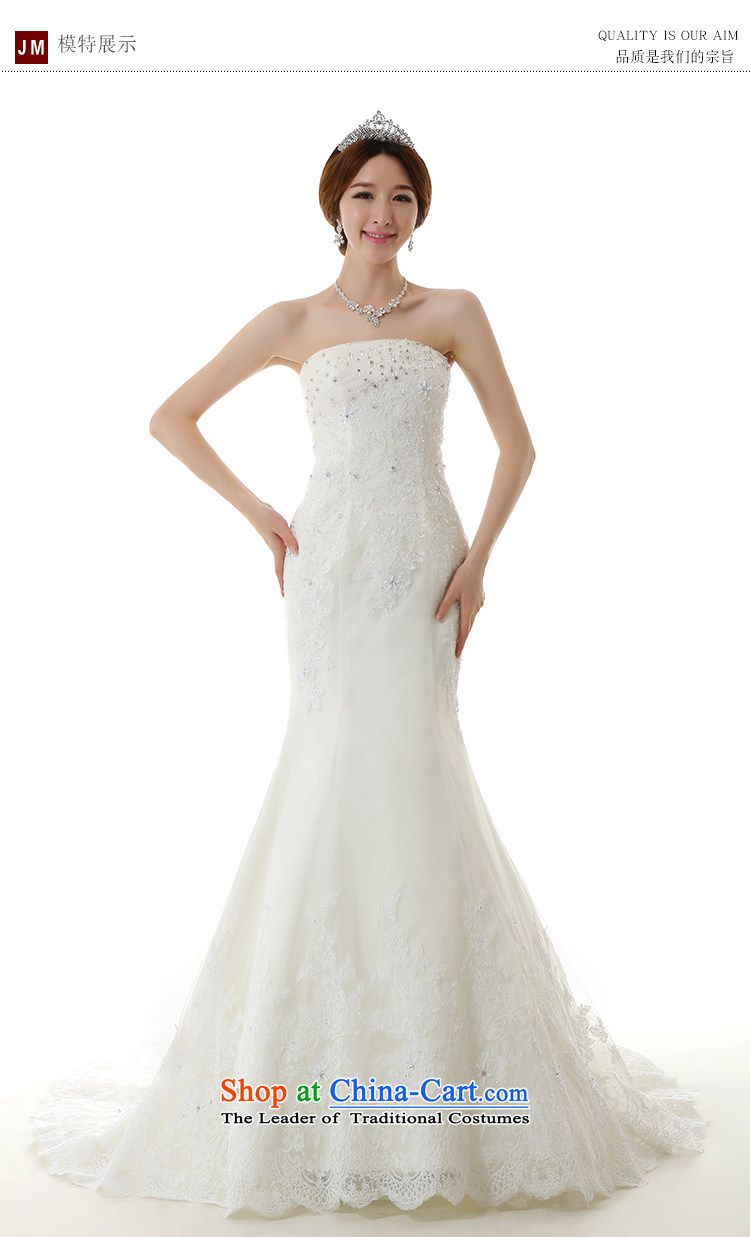 Clean the new bride Castores Magi 2014 crowsfoot large tail white ...