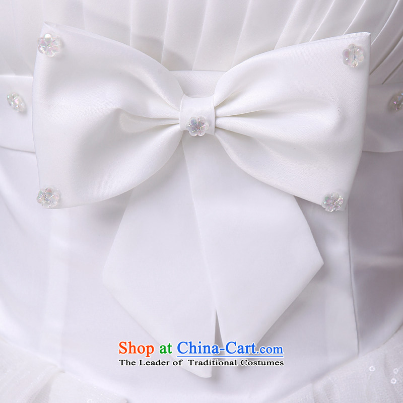Honeymoon bride wedding PEARL FLOWER bride wedding wedding dresses new 2015 princess sweet white wedding聽M honeymoon bride shopping on the Internet has been pressed.