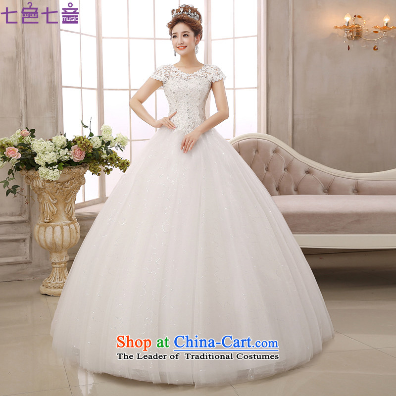 7 Color 7 tone won 2015 New align version to bind with large video thin lace hunsha retro palace wedding dresses聽H023聽white聽L