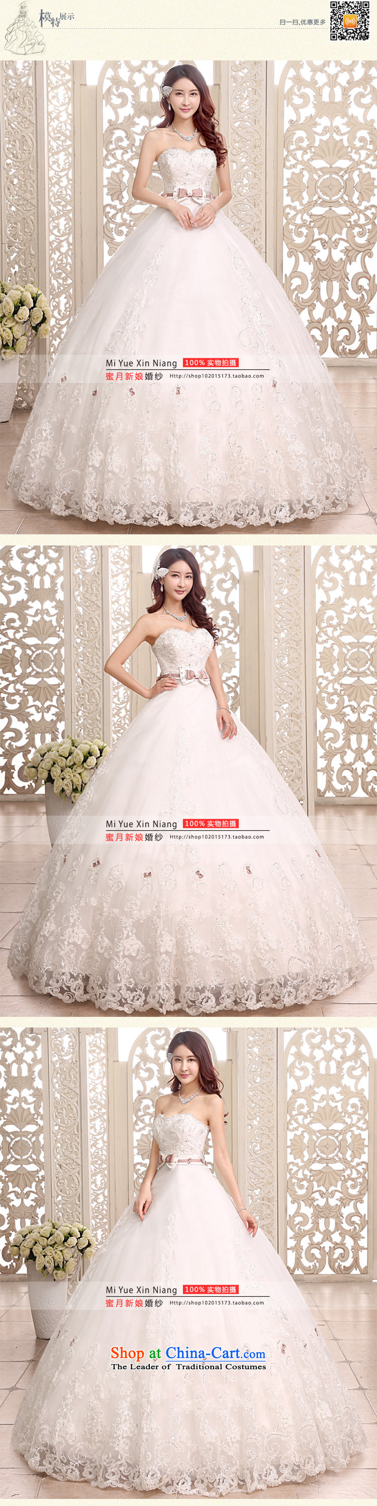 Honeymoon bride 2015 new products wedding dress sense of classical Bow Ties With chest wedding align to bind with Wedding White M pictures, prices, brand platters! The elections are supplied in the national character of distribution, so action, buy now enjoy more preferential! As soon as possible.