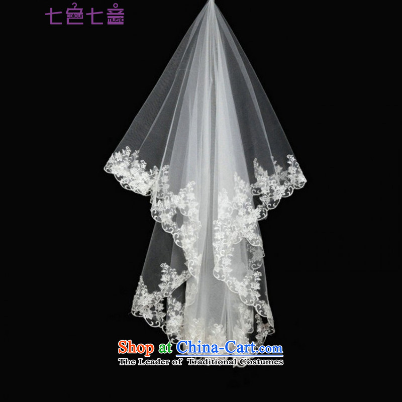 7 7 color tone bride tail wedding and legal wedding accessories white tail wedding and legal 1.5 M T002 white are code