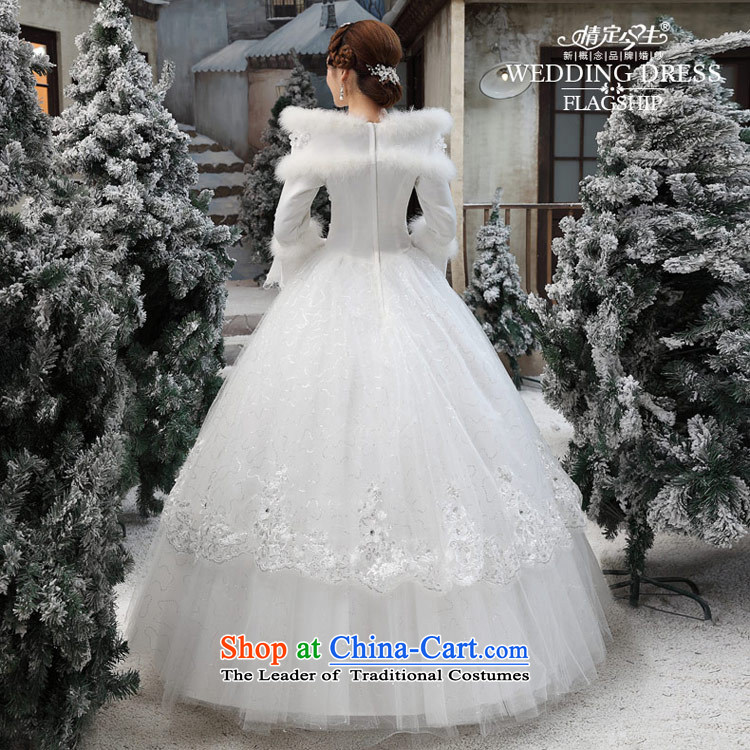 Love of the overcharged wedding dresses new 2015 Korean wiping the chest white autumn and winter Korean marriages to align the drag and drop white pictures, prices, S brand platters! The elections are supplied in the national character of distribution, so action, buy now enjoy more preferential! As soon as possible.