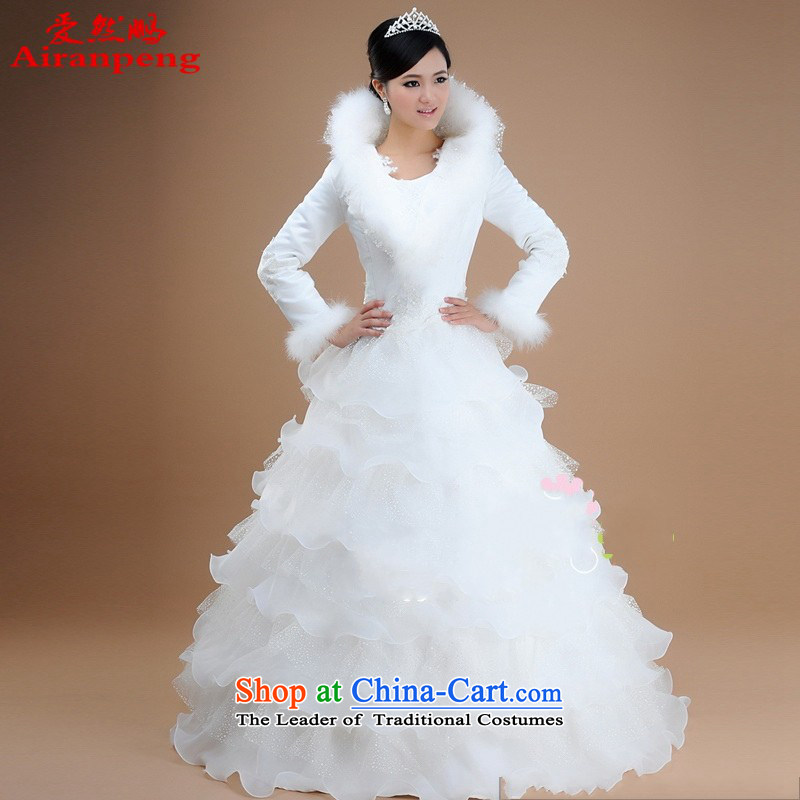 Hot sell Korean version of winter clothing to the bridal wedding dresses 2014 boutique new?XXXL do not need to return