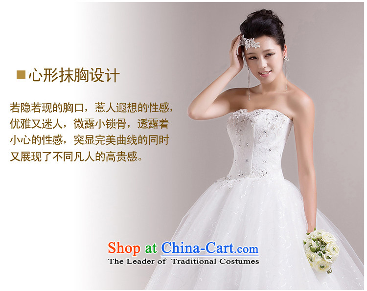 Rain-sang yi wedding dresses 2015 new Korean Princess Mary Magdalene chest with white strap bon bon skirt White gauze HS858 white Suzhou shipment tailored picture, prices, brand platters! The elections are supplied in the national character of distribution, so action, buy now enjoy more preferential! As soon as possible.