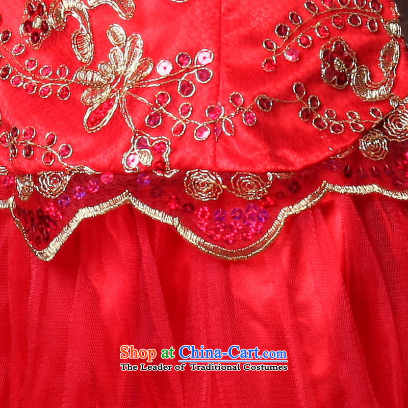 After a day of wind marriages wedding red long wedding dresses to align the new drink evening dresses 3098 3098 Maximum dress XL, recreation , , , Wind shopping on the Internet
