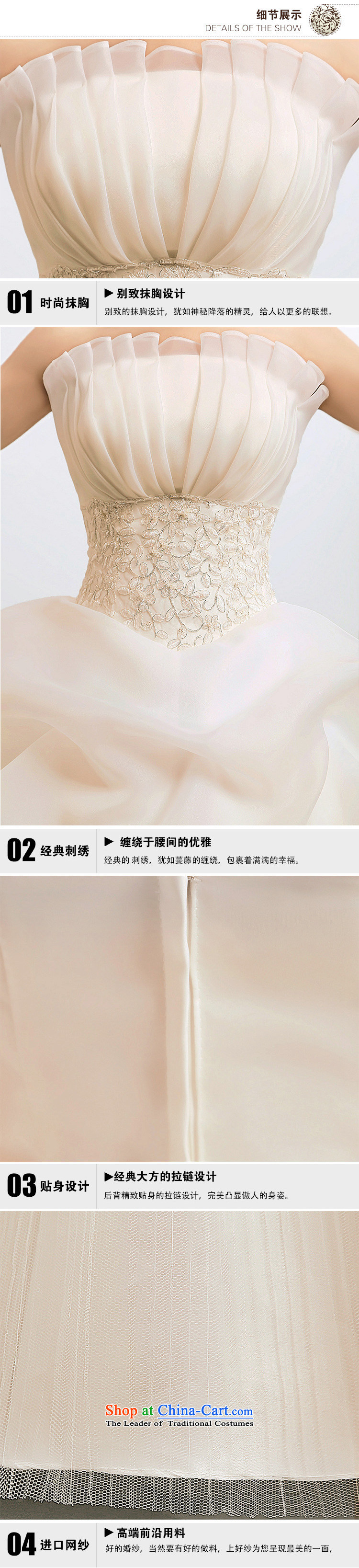 Yet, a new paragraph 2014 anointed chest Korean Princess graphics thin marriage wedding Korean wedding dress al00279 whiteL picture, prices, brand platters! The elections are supplied in the national character of distribution, so action, buy now enjoy more preferential! As soon as possible.