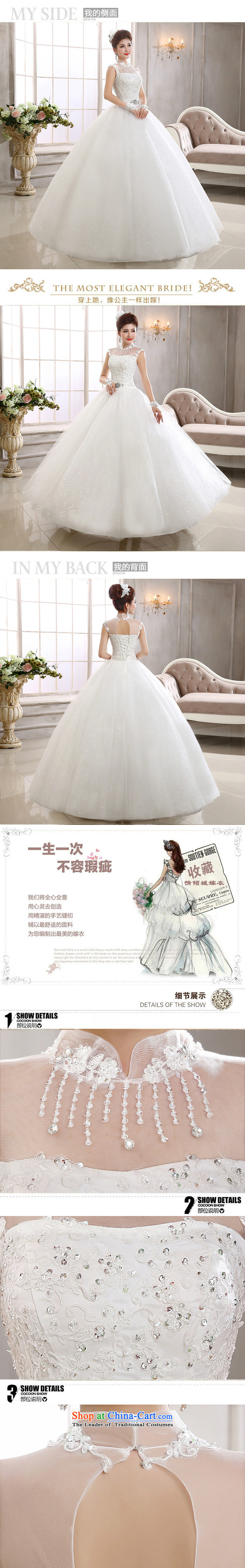 Naoji a new Korean 2014 lace a field shoulder wedding video thin marriages shoulders al00300 WhiteM wedding pictures, prices, brand platters! The elections are supplied in the national character of distribution, so action, buy now enjoy more preferential! As soon as possible.