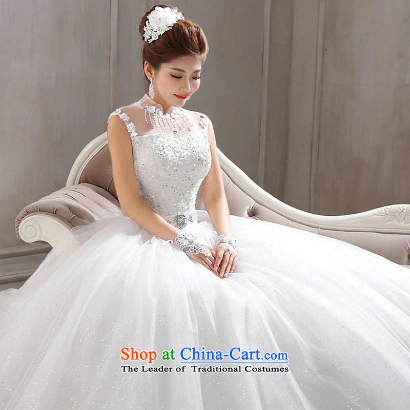 Naoji a new Korean 2014 lace a field shoulder wedding video thin marriages shoulders wedding al00300 WhiteM naoji a , , , shopping on the Internet