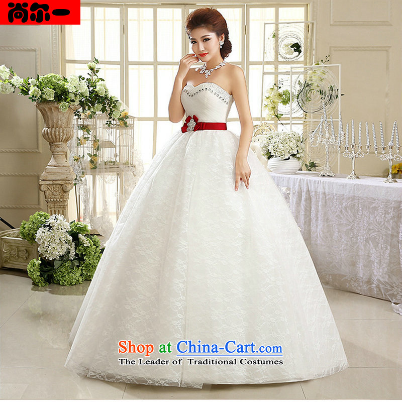 Naoji 2014 summer and fall of a new paragraph to erase breast height waist lace wedding luxury of diamond ornaments with pregnant women al00313 white?s