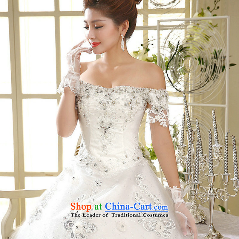 A 2014 Korea naoji version wedding field to align the shoulder graphics thin Korean al00314 White?M Strap