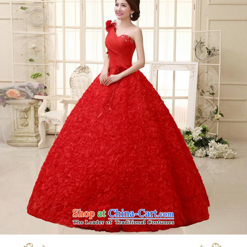 Naoji Korean brides a 2014 back straps then wedding dresses flowers new al00317 red聽s naoji a , , , shopping on the Internet