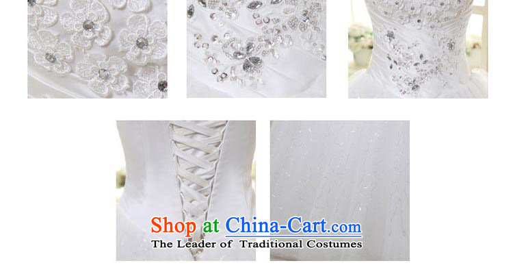 Talk to Her Wedding Dress 2015 new wiping the chest to marry the Princess Bride large elegant sweet Korean Bridal Suite white聽L picture, prices, brand platters! The elections are supplied in the national character of distribution, so action, buy now enjoy more preferential! As soon as possible.