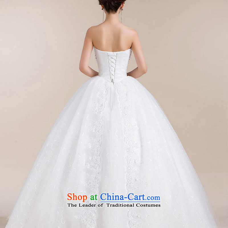 Yet, a wedding dresses and stylish Korean heart anointed chest lace bon bon skirt to align the cake skirt XS1307 White聽M naoji a , , , shopping on the Internet