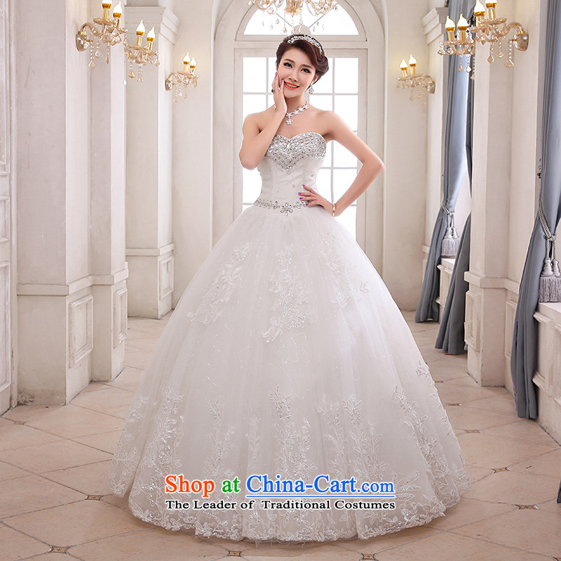 Hei Kaki wedding XS01 2015 new anointed chest Korean diamond jewelry and chest straps to wedding ivory聽M