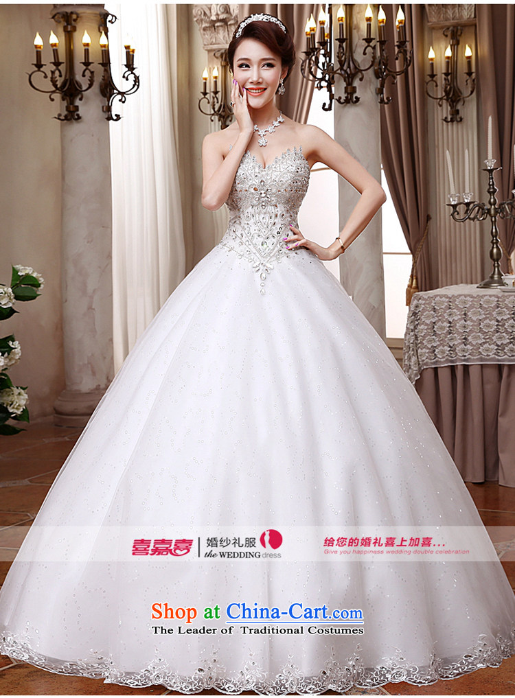 Hei Kaki wedding dresses 2015 new Korean anointed chest straps to align the Sau San Princess Bride wedding ivory聽XL Photo, prices, brand platters! The elections are supplied in the national character of distribution, so action, buy now enjoy more preferential! As soon as possible.