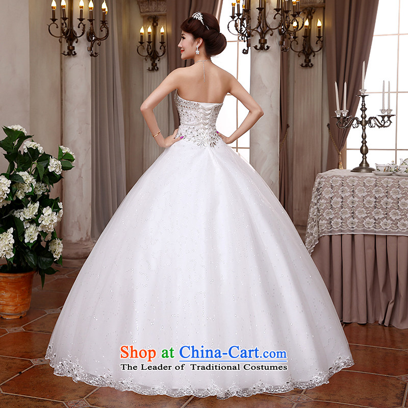 Hei Kaki wedding dresses 2015 new Korean anointed chest straps to align the Sau San Princess Bride wedding ivory聽XL, Hei Kaki shopping on the Internet has been pressed.